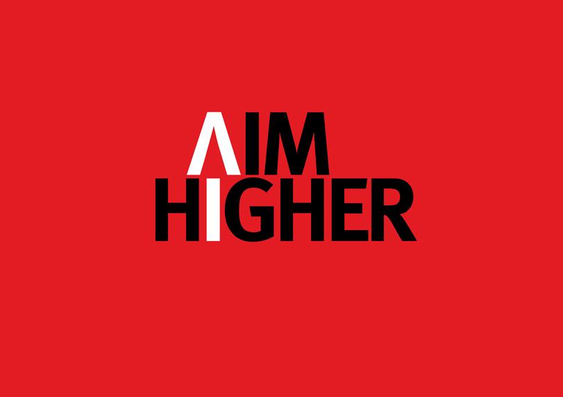 Aim Higher Logo at Hudsonfuggle